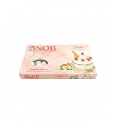 Confett Snob crema chantilly mandorla tostata ricoperta di cioccolato al latte Gr 500 010137545 Confetti Crispo- Futurartshop...