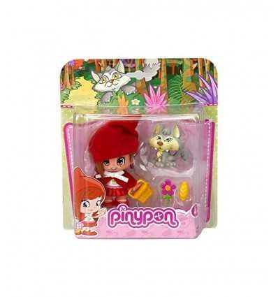 PinY pon pequeña hada de Caperucita con el lobo 700012052/T16669 Famosa- Futurartshop.com
