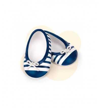 set med blå och vita Ballet flats skor 700011320/T17236 Famosa- Futurartshop.com