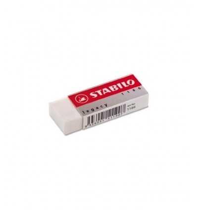 Stabilo äldre vit gummi Stabilo- Futurartshop.com