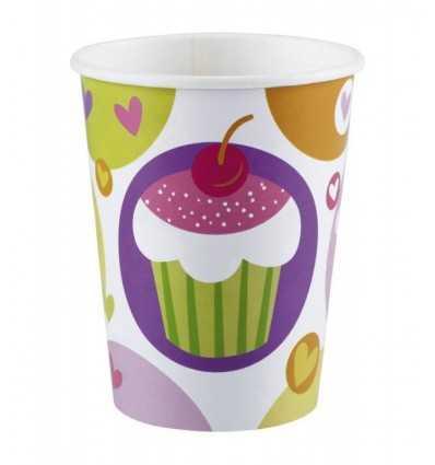 Cupcake tasses 8 Pack FBM997211 Anagram- Futurartshop.com