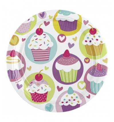 8 Pack 23 cupcake cm dishes FBM997209 Anagram- Futurartshop.com