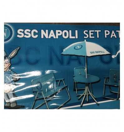 Patio du SSC Napoli ensemble 5 pièces Nemesi- Futurartshop.com