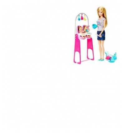 Barbie może być playset baby sitter CCP68/CKJ22 Mattel- Futurartshop.com
