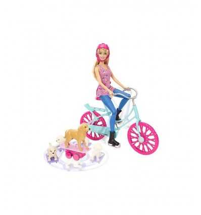 Barbie cykel med hennes ungar CLD94 Mattel- Futurartshop.com