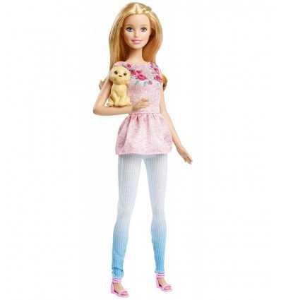 Barbie siostry z beżowym szczeniak CLF96/CLF97 Mattel- Futurartshop.com