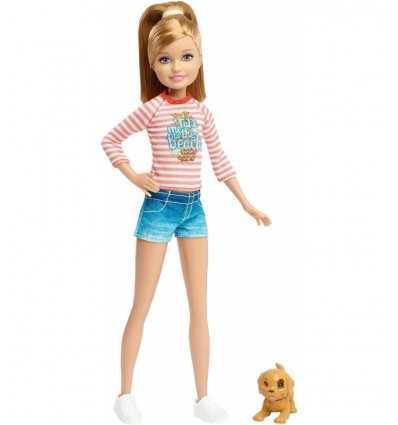 Barbies kleine Schwester mit Beige Welpen CLF96/CLF99 Mattel- Futurartshop.com