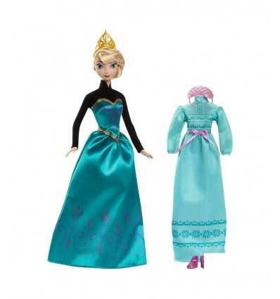 Frozen bambola Elsa e i suoi abiti CMM29/CMM31 Mattel-Futurartshop.com