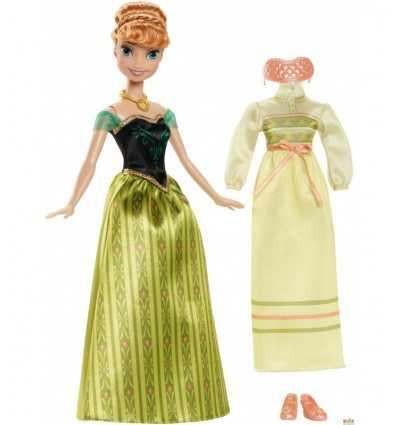 Mrożone Anna i jej ubrania lalki CMM29/CMM30 Mattel- Futurartshop.com
