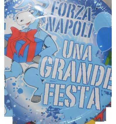 piatti 23 centimetri Napoli grande festa 164156 Nemesi-Futurartshop.com