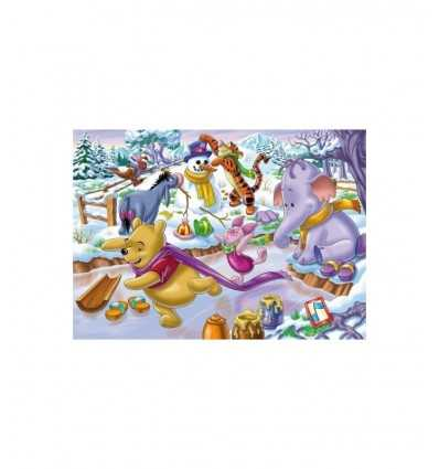 250 piece puzzle winnie the pooh playing in winter Clementoni- Futurartshop.com