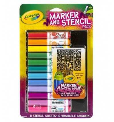 Moldes y marcadores 048734C Crayola- Futurartshop.com