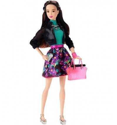 Barbie-Freunde-Green-Top mit Blumen-Rock CLL33/CLL36 Mattel- Futurartshop.com