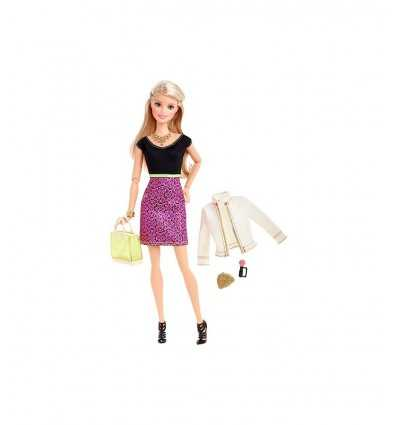 Barbie doll black top with pink skirt CLL33/CLL34 Mattel- Futurartshop.com