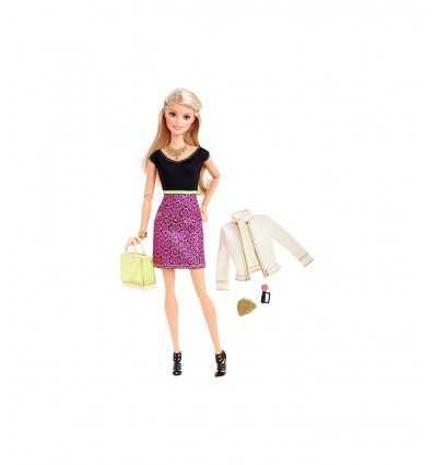Top de barbie muñeca negro con la falda rosa CLL33/CLL34 Mattel- Futurartshop.com