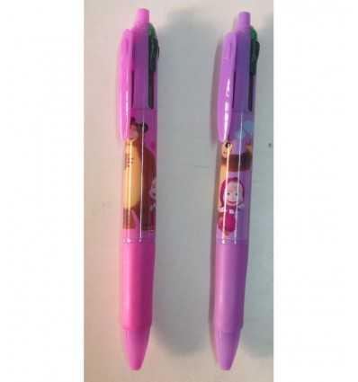 ручка с 3 цвета нажмите кнопку Шаблоны 2 Маша и медведь 152790/2 Accademia- Futurartshop.com