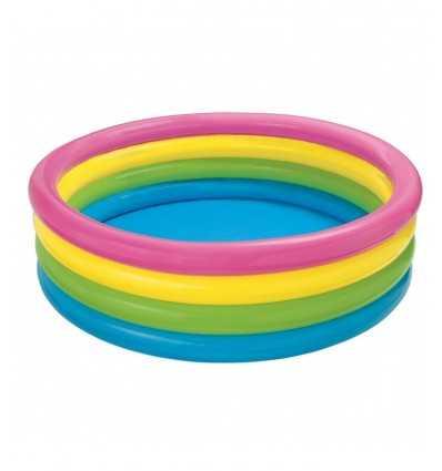 Piscina a 4 anelli arcobaleno 564415 Intex-Futurartshop.com