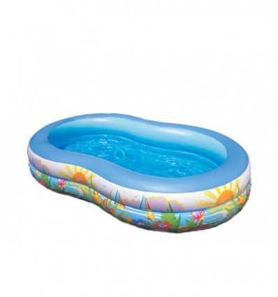 Paradis de piscine 262 x 160 x 46 56490 Intex- Futurartshop.com