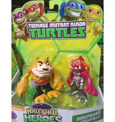 personaggi taratarughe ninja Dogpound e Fishface GPZ96200/96109 Giochi Preziosi-Futurartshop.com