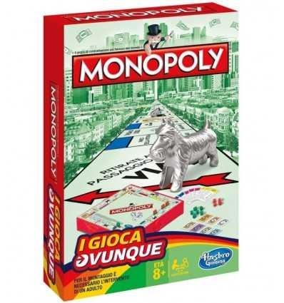 leken var monopol resa B10021033 Hasbro- Futurartshop.com