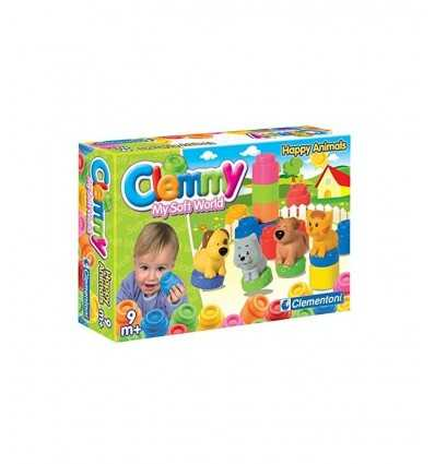 Clemmy set animales suaves ladrillos 14773 Clementoni- Futurartshop.com