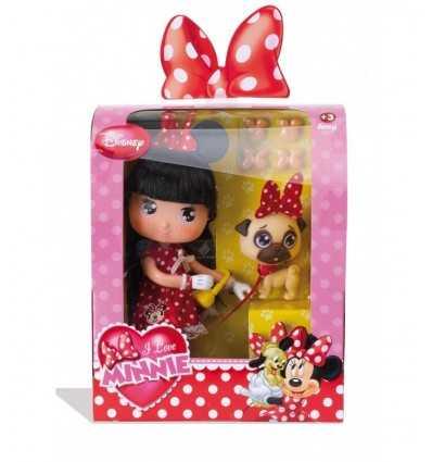 I love Minnie IML bambola e cucciolo 700009050 Famosa-Futurartshop.com