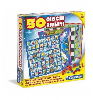 spel-50 spel tillsammans 12941 Clementoni- Futurartshop.com