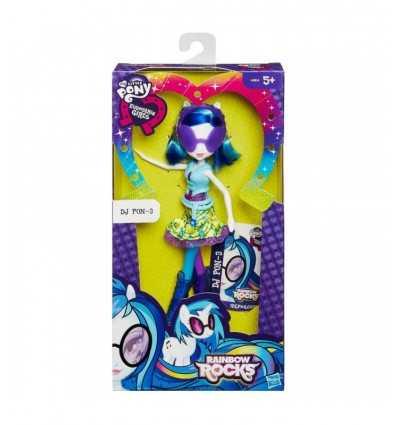 私小さなのポニー人形 equestria 女の子 dj pon-3 A399EU41/A8834 Hasbro- Futurartshop.com