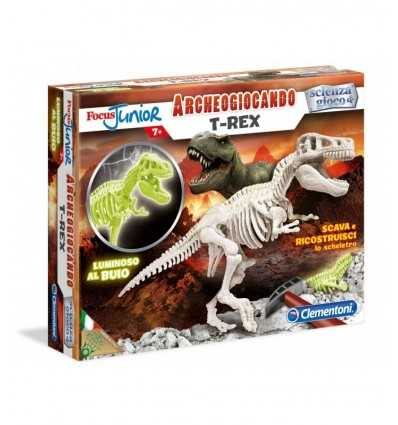 T-Rex Archeogiocando Glow in The Dark 94056/13188 Clementoni- Futurartshop.com