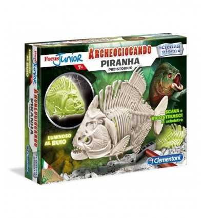 Archeogiocando prehistorycznych piranie 94056/13893 Clementoni- Futurartshop.com