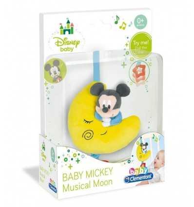 Miękkie księżyc Baby muzyczne Miki 14534 Clementoni- Futurartshop.com