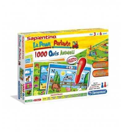 SAPIENTINO Apropos Stift 1000 quiz Tiere 13268 Clementoni- Futurartshop.com
