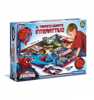 puzzle interactivo gigante alfombra spiderman ultimate 13276 Clementoni- Futurartshop.com