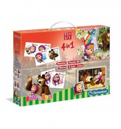 edu kit 4 en 1 masha y el oso 13400 Clementoni- Futurartshop.com