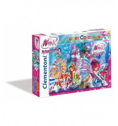 Winx puzzle pieces Maxi 104 23647 Clementoni- Futurartshop.com