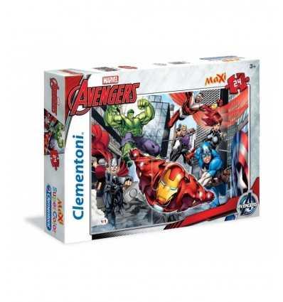 Puzzle maxi The Avengers 24 pièces 24036 Clementoni- Futurartshop.com