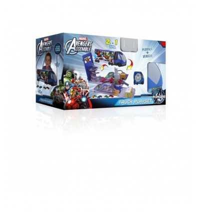 Portique de Vengeurs avec véhicules Camion 390171AV1 IMC Toys- Futurartshop.com