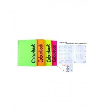 maxi siralato notebook with striped sheets colourbook 150 DN000075 Pigna- Futurartshop.com