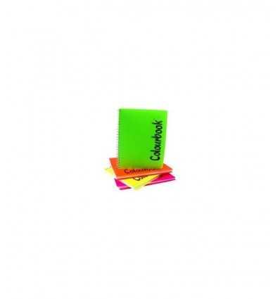 quaderno maxi spiralato double righi e quadretti Colourbook Pigna-Futurartshop.com