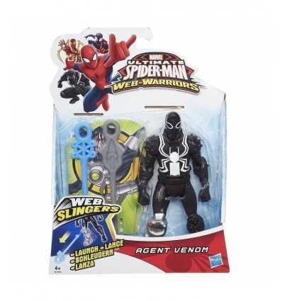 karaktär Agent siffror slungrensningsmaskiner web Venom B0571EU40/B1254 Hasbro- Futurartshop.com