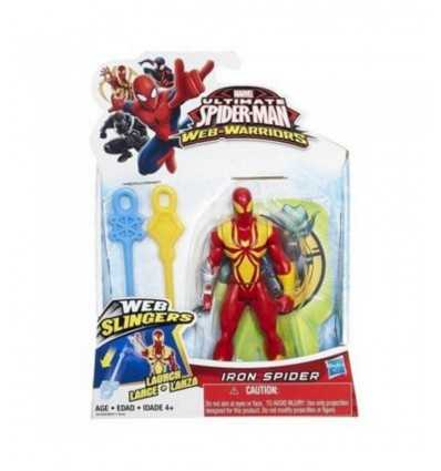 frondeurs web Spiderman de caractères chiffres Iron Spider B0571EU40/B1253 Hasbro- Futurartshop.com