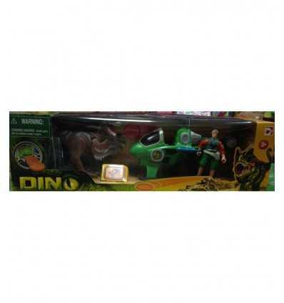 恐竜の谷の文字と 2 の恐竜モデル HDG30165 Giochi Preziosi- Futurartshop.com