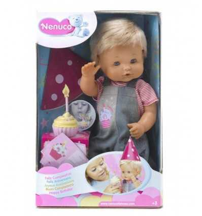 Zadowolony urodziny Nenuco 700010641 Famosa- Futurartshop.com