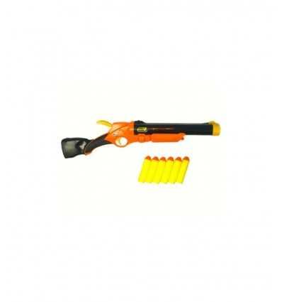 Pistola de dardos con suave 6 latas RDF50899 Giochi Preziosi- Futurartshop.com