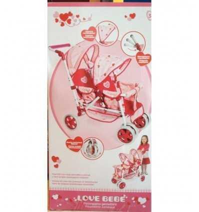 cochecito de bebé de amor RDF50340 Giochi Preziosi- Futurartshop.com