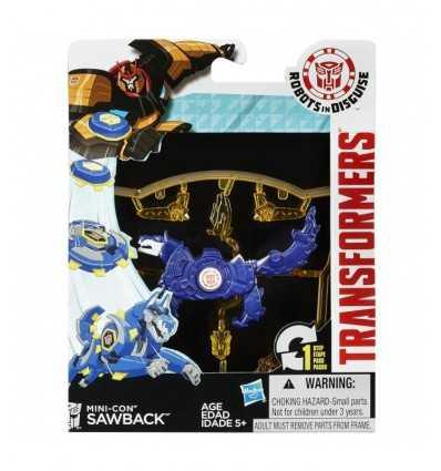 transformers mini-con personaggio Sawback B0763EU40/B1974 Hasbro-Futurartshop.com