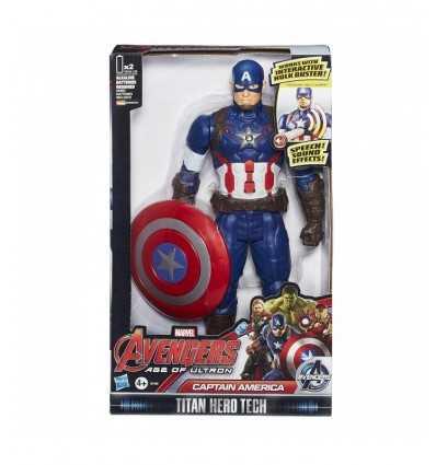Rächer Captain America Charakter zu sprechen B04331030/B1495 Hasbro- Futurartshop.com
