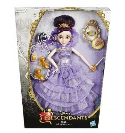 Disney doll ättlingar Mal isle av den förlorade B3120EU40/B3121 Hasbro- Futurartshop.com
