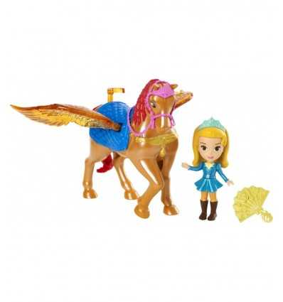 Princess Amber lalka i koń skrzydlaty szafran CKB24/CKB25 Mattel- Futurartshop.com