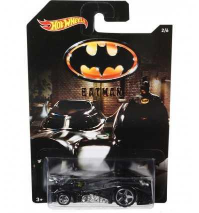Горячие колеса автомобилей Бэтмен Бэтмобиль DFK69/DFK70 Mattel- Futurartshop.com